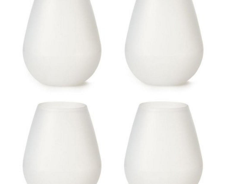 Unzerbrechbare Silikon-Gläser